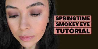 Springtime Smokey Eye Tutorial