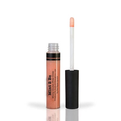 Image of Mint to be lip gloss from Red Apple Lipstick that can be used in combination with dark lipsticks