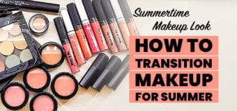Summertime makeup