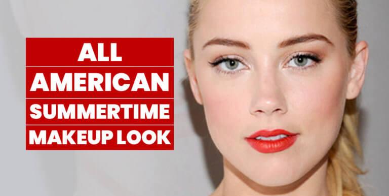 Summertime All American Makeup Look