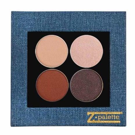 Blue Shimmer Denim Palette