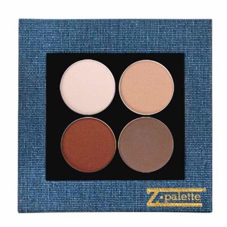Brown Matte Denim Palette