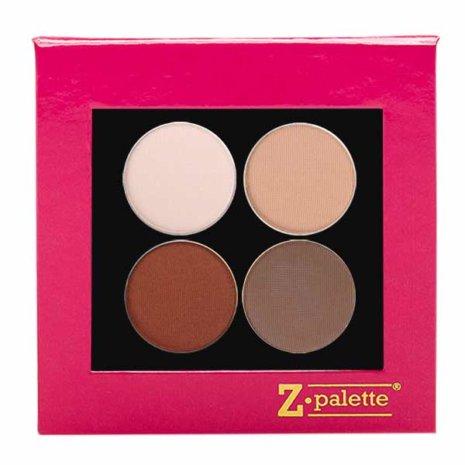 Brown Matte Pink Palette