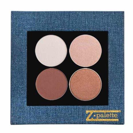 Brown Shimmer Denim Palette