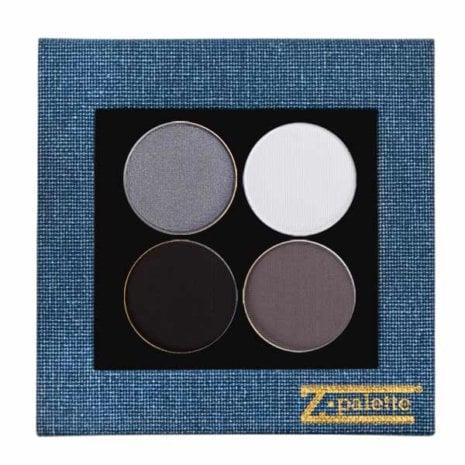 Grey Shimmer Denim Palette