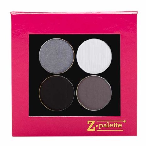 Grey Shimmer Pink Palette