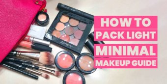How To Travel Light With Makeup