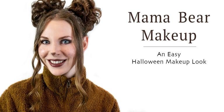 Mama Bear Halloween Costume Tutorial