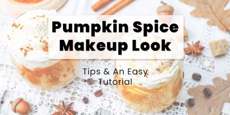 Pumpkin Spice Look Makeup Tutorial